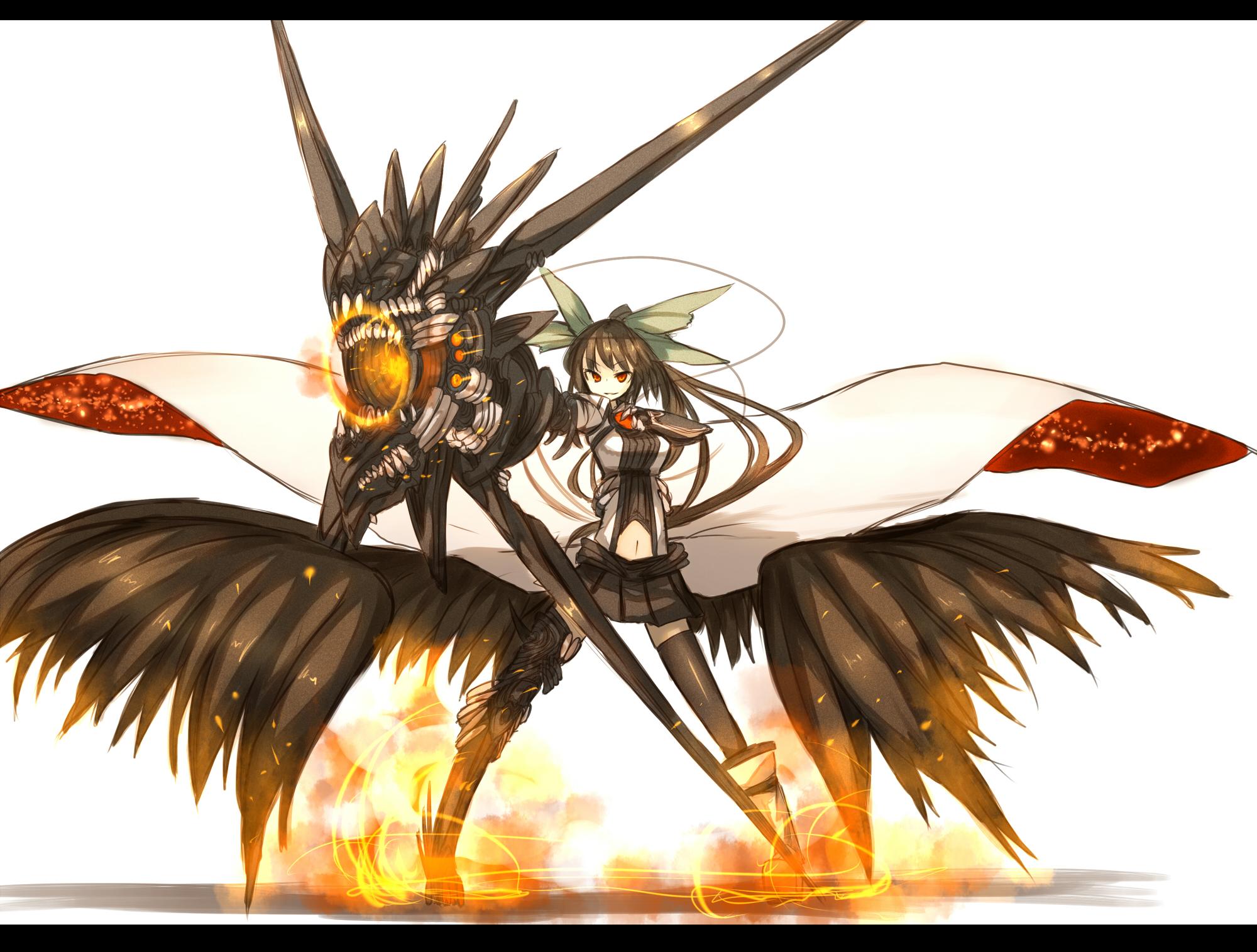 Utsuho S Fancy Cannon Reiuji Utsuho Zerochan Anime Image Board
