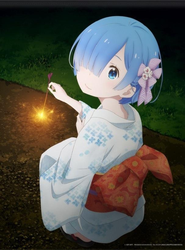 Tags: Anime, WHITE FOX, Re:Zero Kara Hajimeru Isekai Seikatsu, Rem (Re:Zero), Official Art