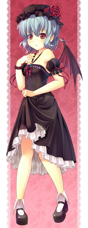 Tags: Anime, Supertie, Touhou, Remilia Scarlet