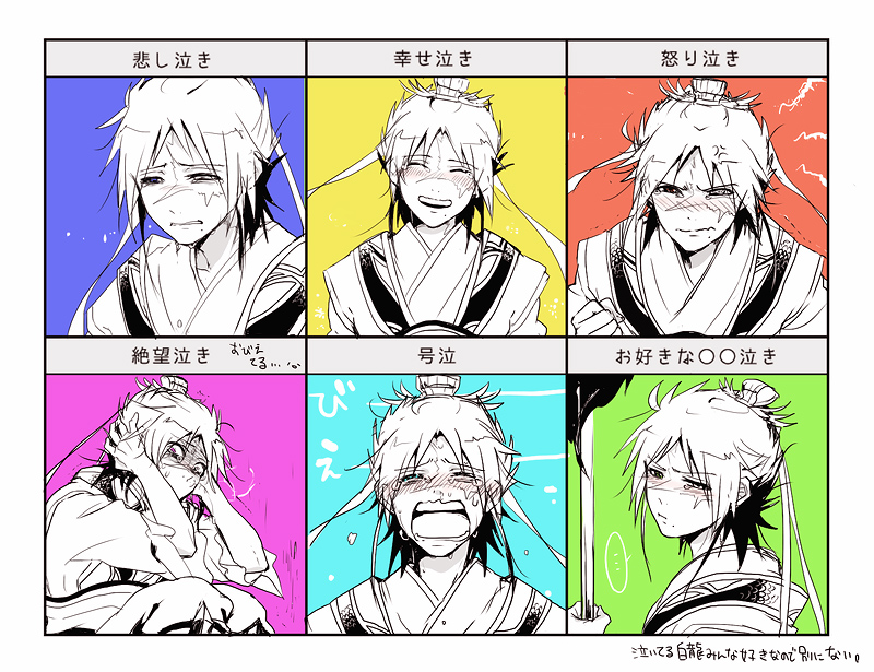 of Magic  Ren Hakuryuu  Sad  Chart  Yandere  Expression ChartYandere Expression