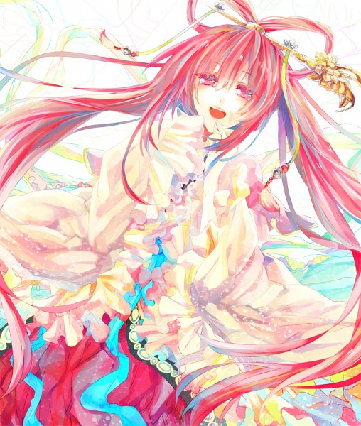 Tags: Anime, Pixiv Id 2600869, MAGI: The Labyrinth of Magic, Ren Kougyoku, Hair Rings, Chinese Clothes