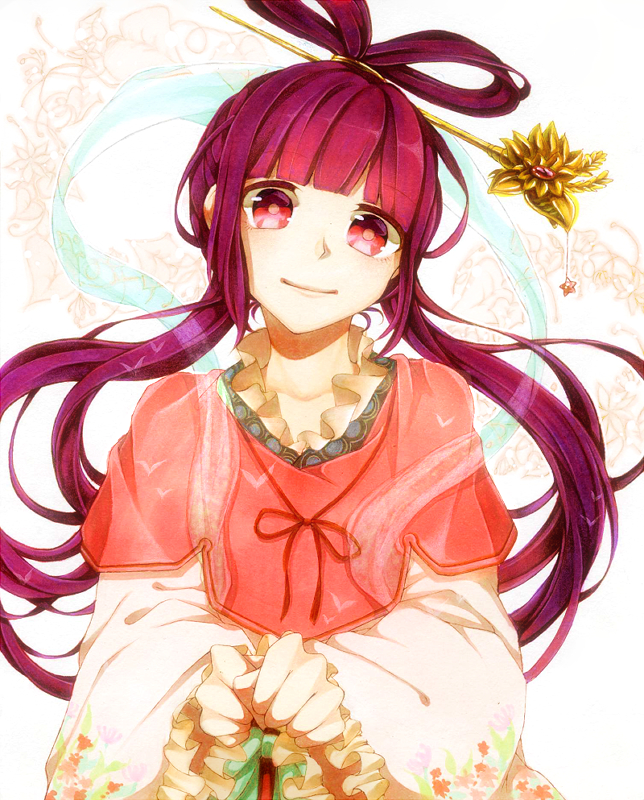 Tags: Anime, Chinese Clothes, Hair Rings, Ren Kougyoku, MAGI: The Labyrinth of Magic, Yayubina