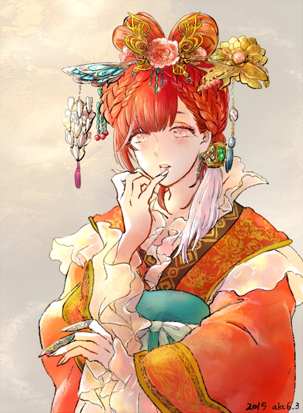 Tags: Anime, Pixiv Id 534676, MAGI: The Labyrinth of Magic, Ren Kougyoku, Hair Rings, Princess, Twin Rings