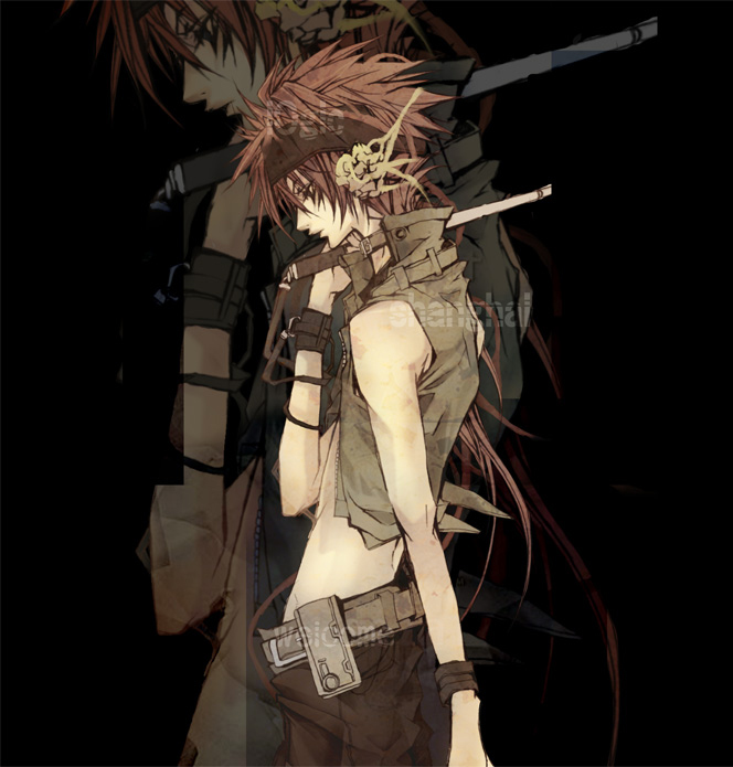 Tags: Anime, Samamiya Akaze, Final Fantasy VII, Reno, Electric Rod, Turks