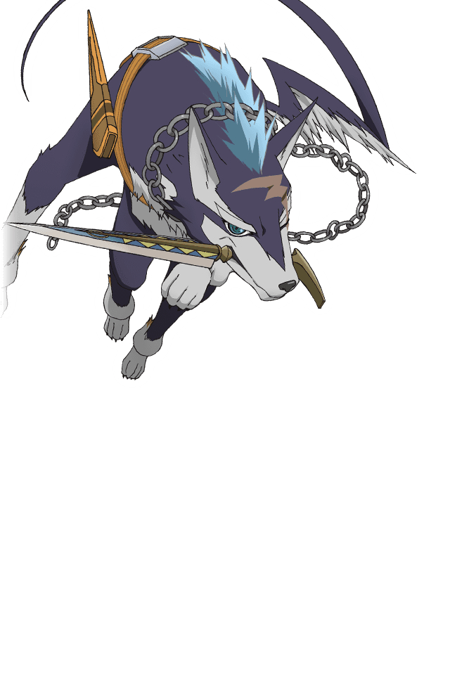 Tags: Anime, Bandai Namco Entertainment, Tales of Link, Repede, Tag Cover, PNG Conversion, Official Art