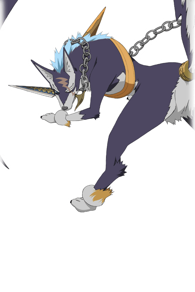 Tags: Anime, Bandai Namco Entertainment, Tales of Link, Repede, Official Art