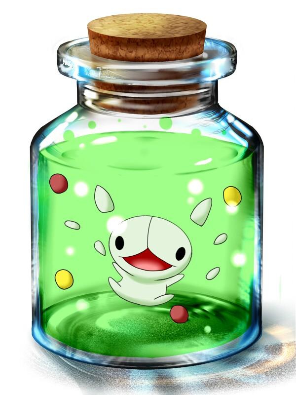 Tags: Anime, Pokémon, Reuniclus, In a Bottle, Pixiv Bottle, Pixiv, Wallpaper