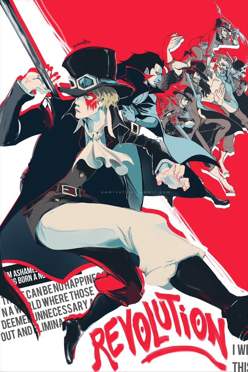 One Piece Revolutionary Army Revolutionary Army One