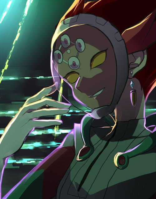 Tags: Anime, Pixiv Id 6530834, Yu-Gi-Oh! VRAINS, Yu-Gi-Oh!, Kougami Ryouken, Revolver (Yu-Gi-Oh! VRAINS), No Eyebrows, Knights of Hanoi Uniform, Fanart, Fanart From Pixiv, Pixiv