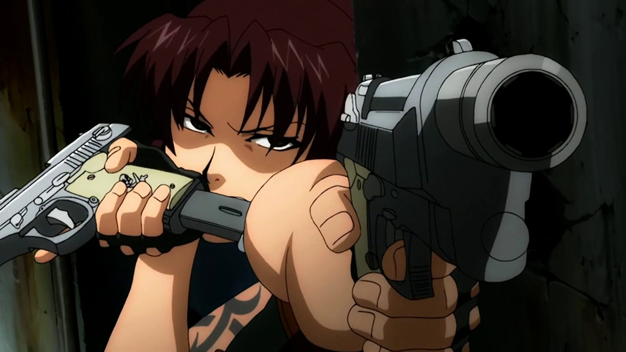 Revy Black Lagoon Wallpaper 1318960 Zerochan Anime