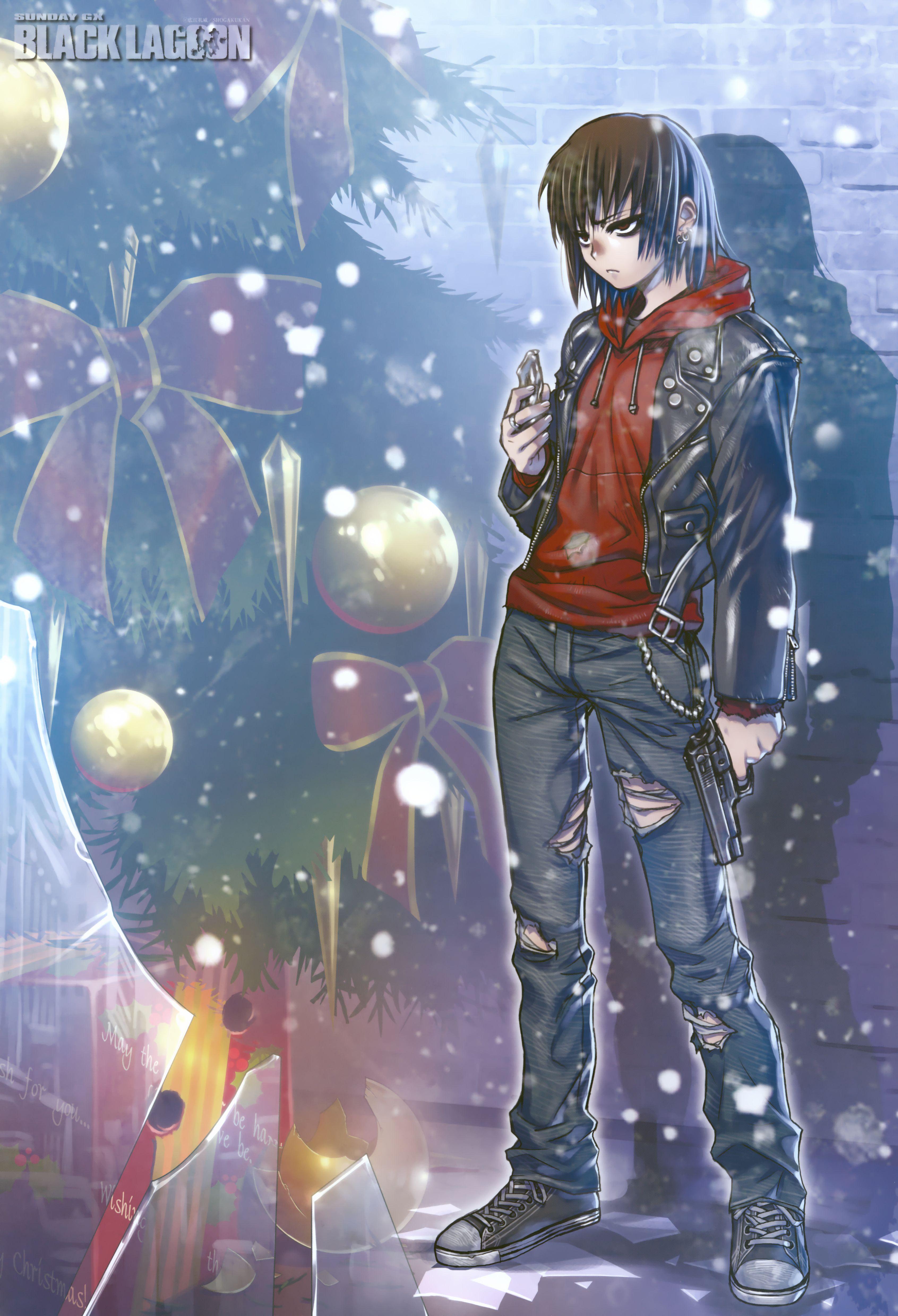 Black Lagoon Mobile Wallpaper Zerochan Anime Image Board