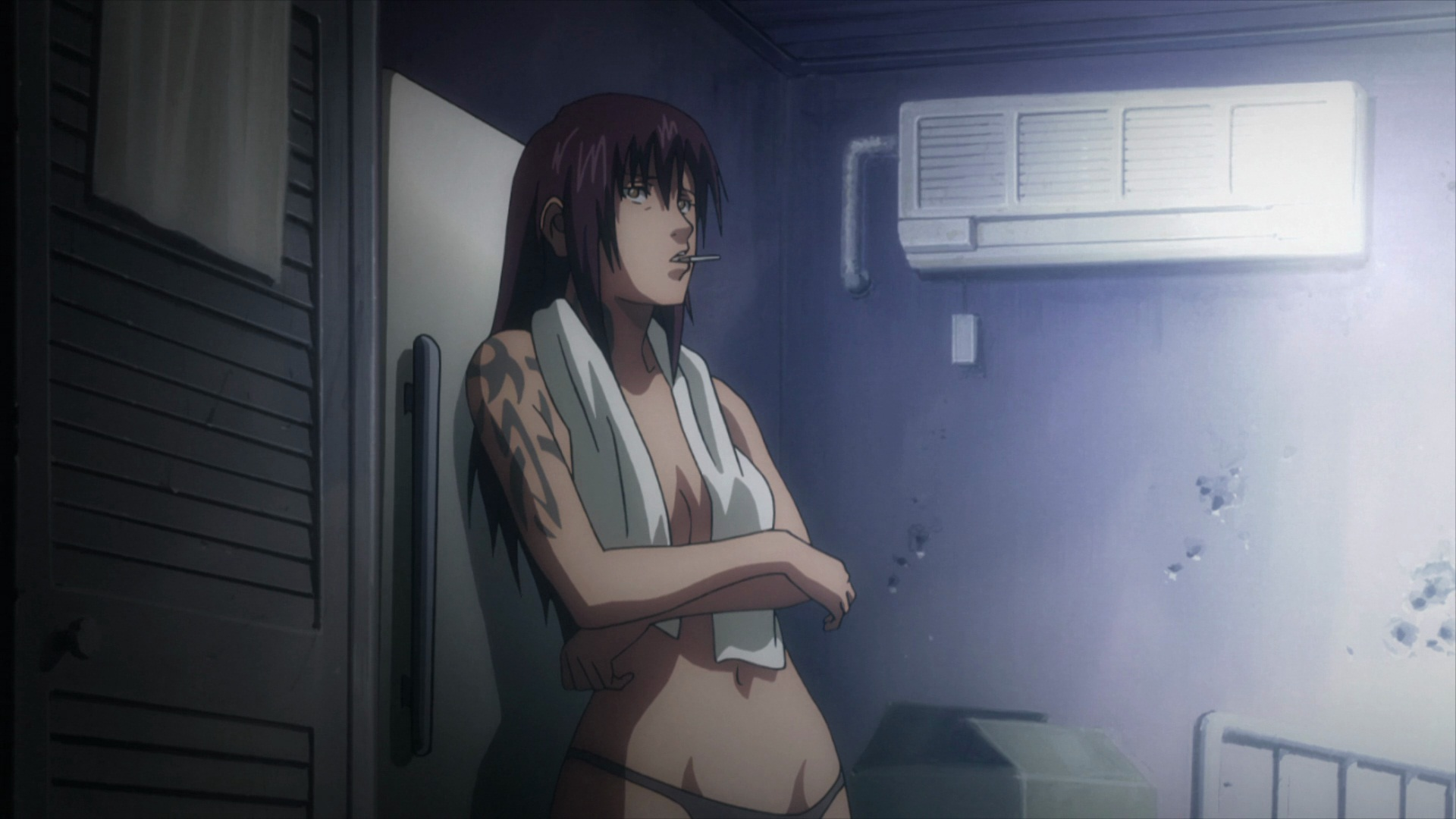 Revy Black Lagoon Hd Wallpaper 505501 Zerochan Anime Image