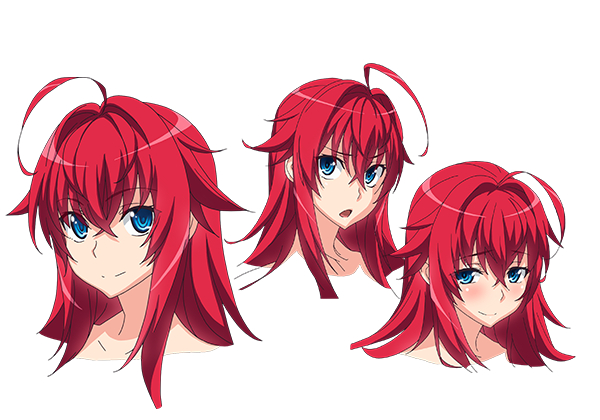 Tags: Anime, Uno Makoto, Passione (Studio), Highschool DxD, Highschool DxD HERO, Rias Gremory, Official Art