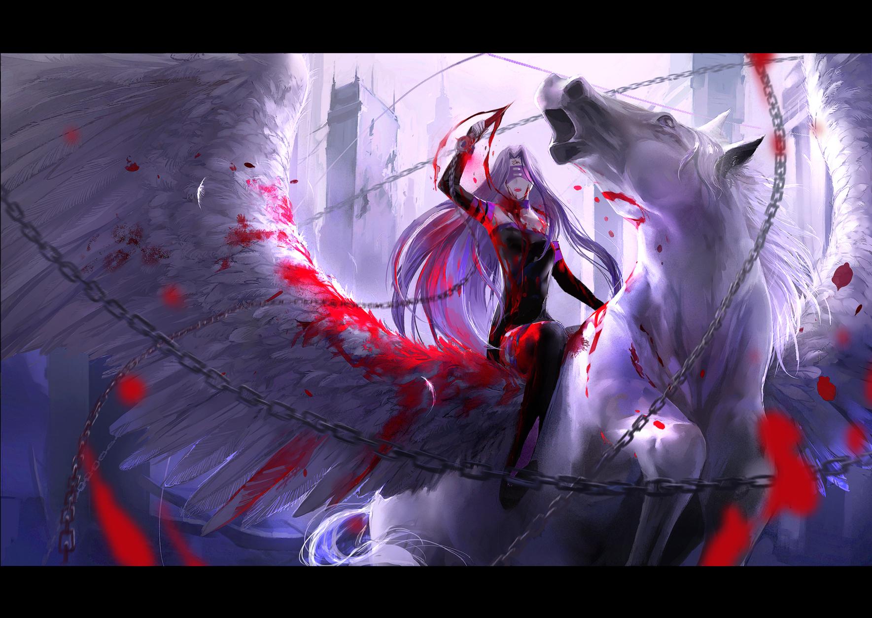 Rider Fate Stay Night Zerochan Anime Image Board