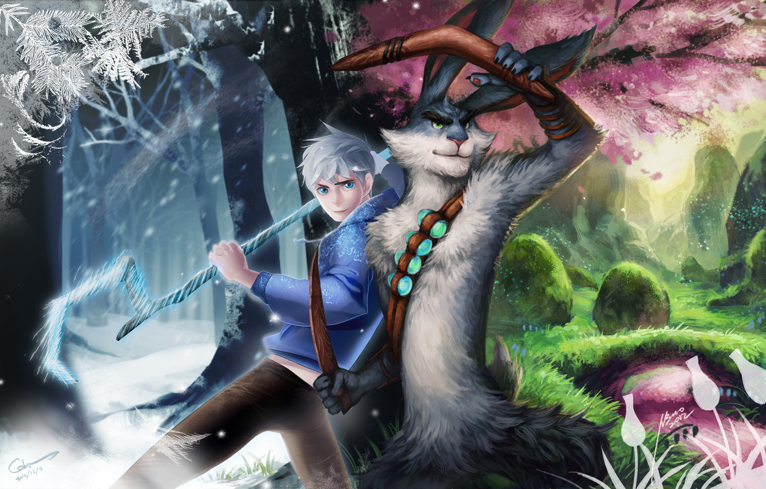 rise of the guardians Rise of the guardians he first appeared sculpturing toys from ice before he was interrupted by one of his yetis the yeti told him there was something wrong with the globe and north went to check out.