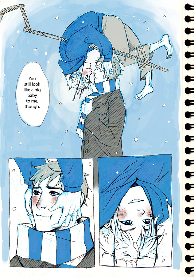 Tags: Anime, Miyuli, Rise of the Guardians, Jamie Bennett, Jack Frost, Fanart, Tumblr, Mobile Wallpaper