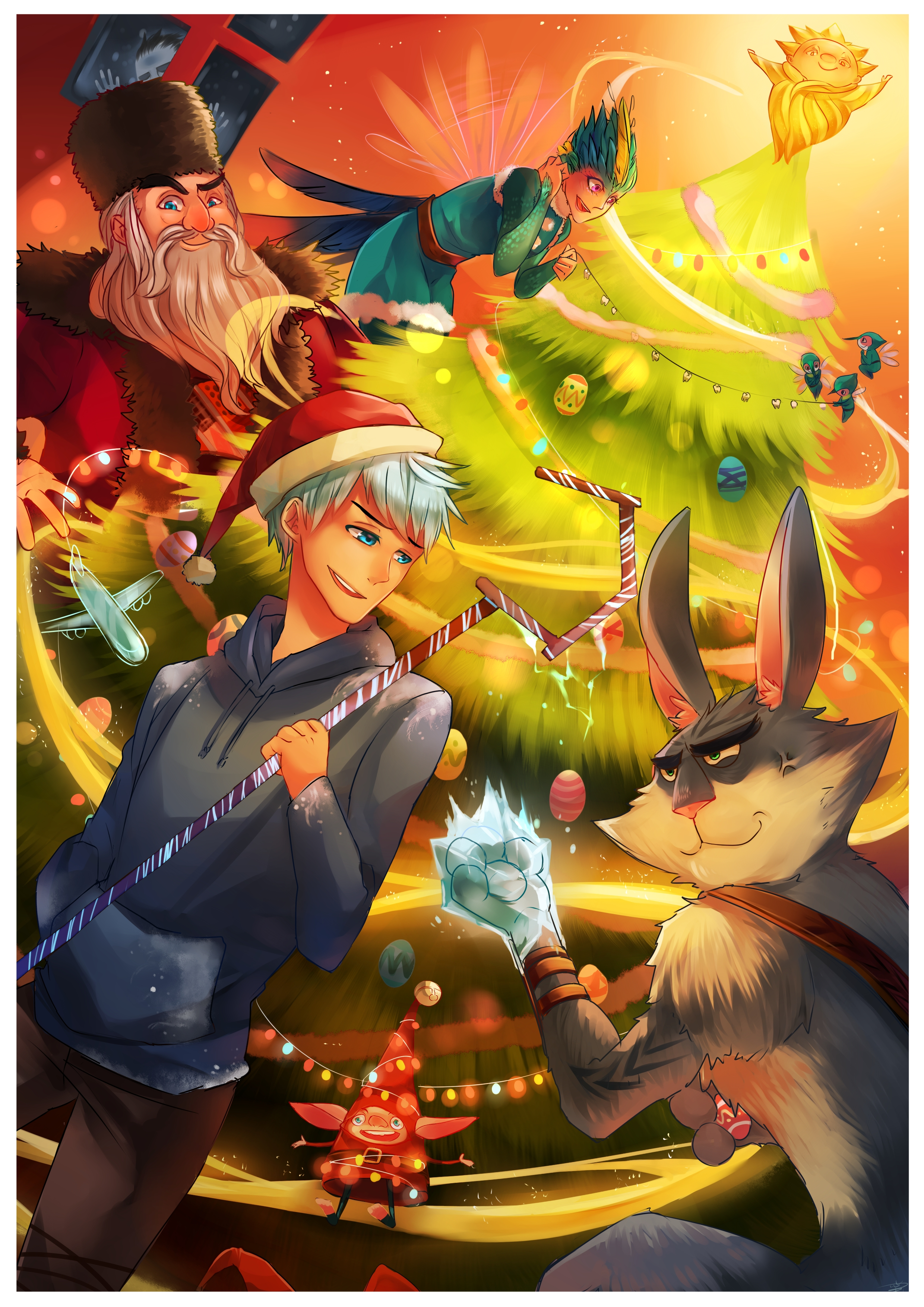 Rise Of The Guardians Mobile Wallpaper 1380014 Zerochan Anime
