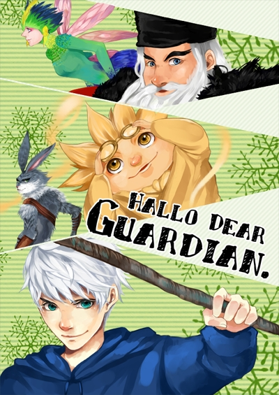 Tags: Anime, Yumibana, Rise of the Guardians, Sandman (Rotg), Toothiana, E. Aster Bunnymund, Nicholas St. North, Jack Frost, Bird Person, Blue Hoodie, Fanart, Fanart From Pixiv, Mobile Wallpaper