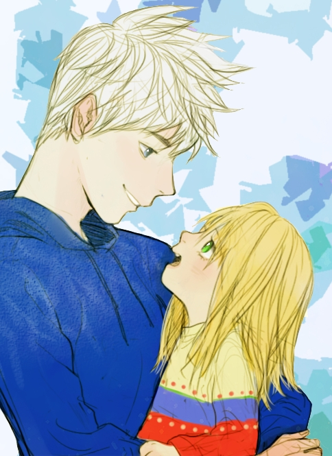 Tags: Anime, Yang Seungyoung, Rise of the Guardians, Sophie Bennett, Jack Frost, Blue Hoodie, Fanart, Fanart From Pixiv, PNG Conversion, Pixiv, Mobile Wallpaper, Dreamworks
