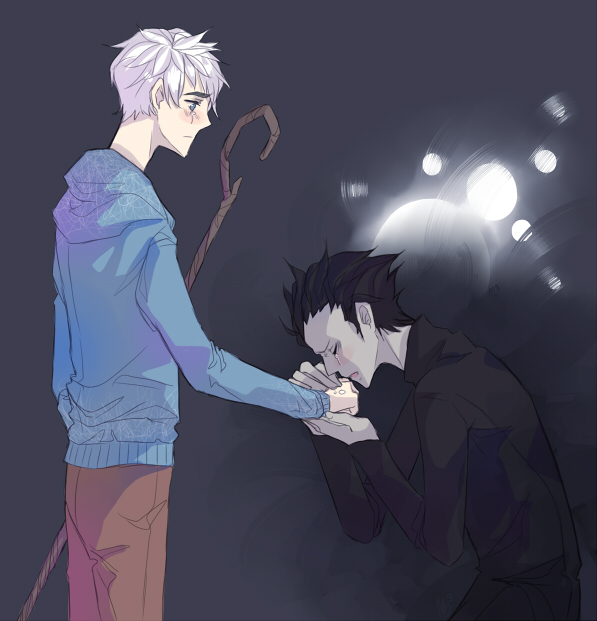 jack frost and pitch black kiss - photo #43