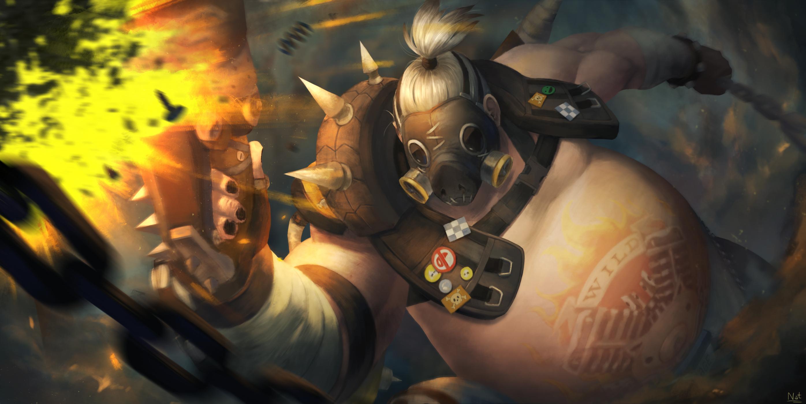 Roadhog (Overwatch) - Zerochan Anime Image Board