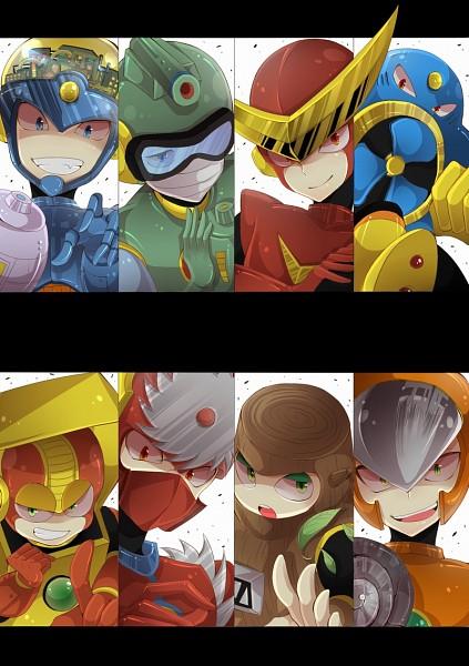 Tags: Anime, Tobari (Brokenxxx), Rockman, RockMan (Character), FlashMan, Heatman, AirMan