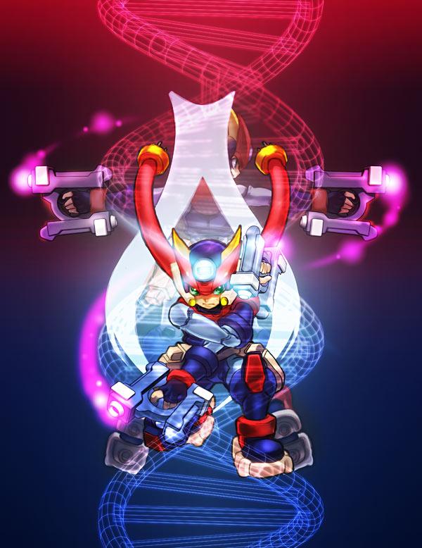 Megaman Zx Advent Grey