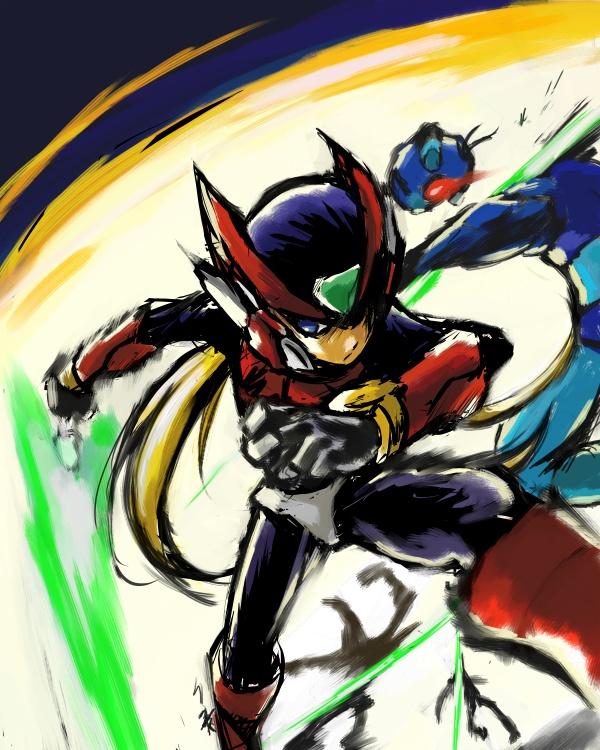 Tags: Anime, Rockman Zero, Rockman, Zero (Megaman Zero), Fanart, Artist Request