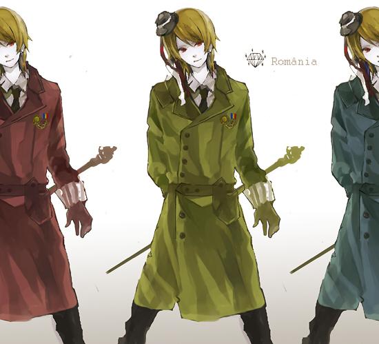 Tags: Anime, Hoka, Axis Powers: Hetalia, Romania, Fanart, Pixiv