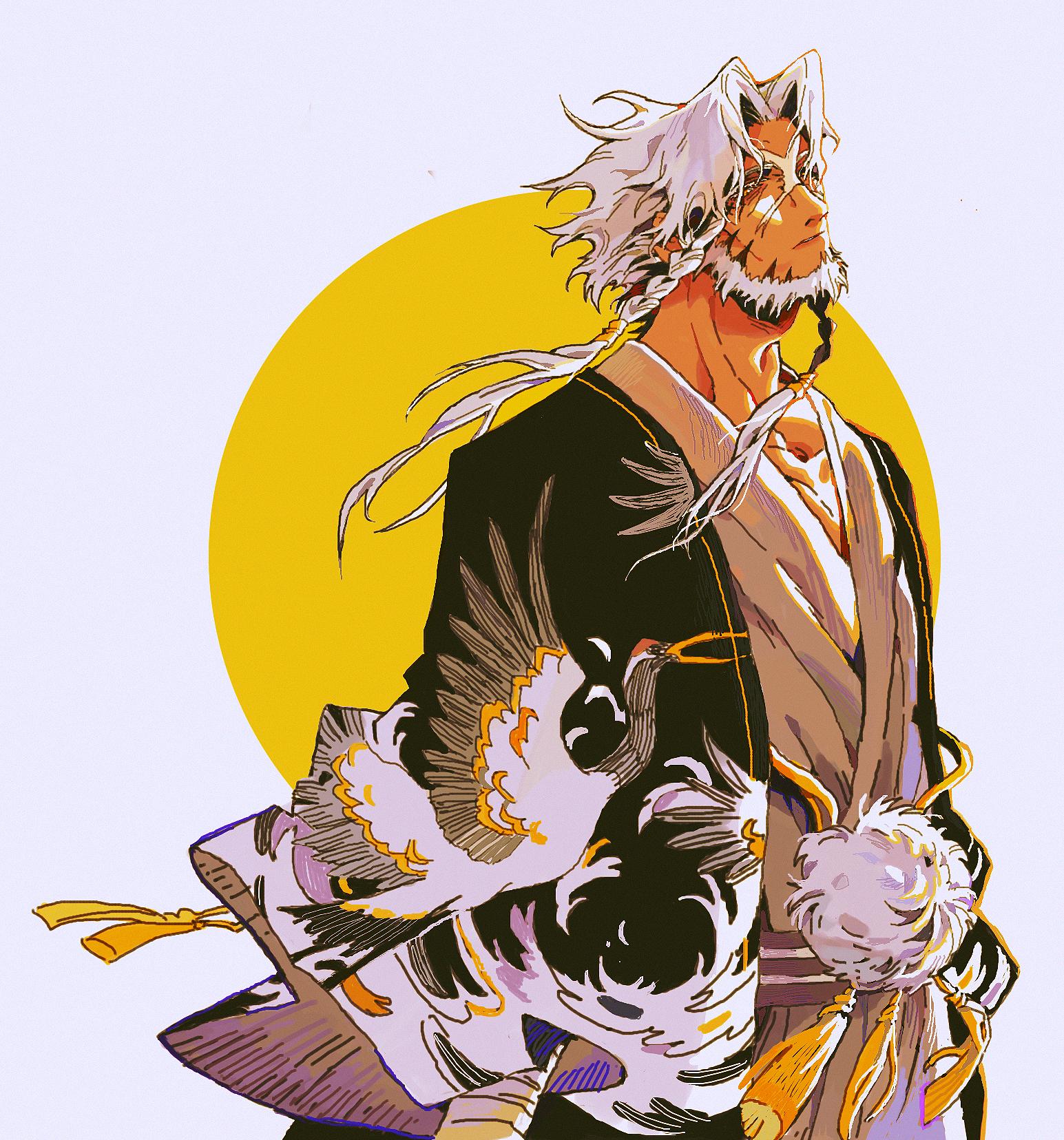 """Yūshirō """"Papa"""" Shihoin Ronac.full.2523267"""