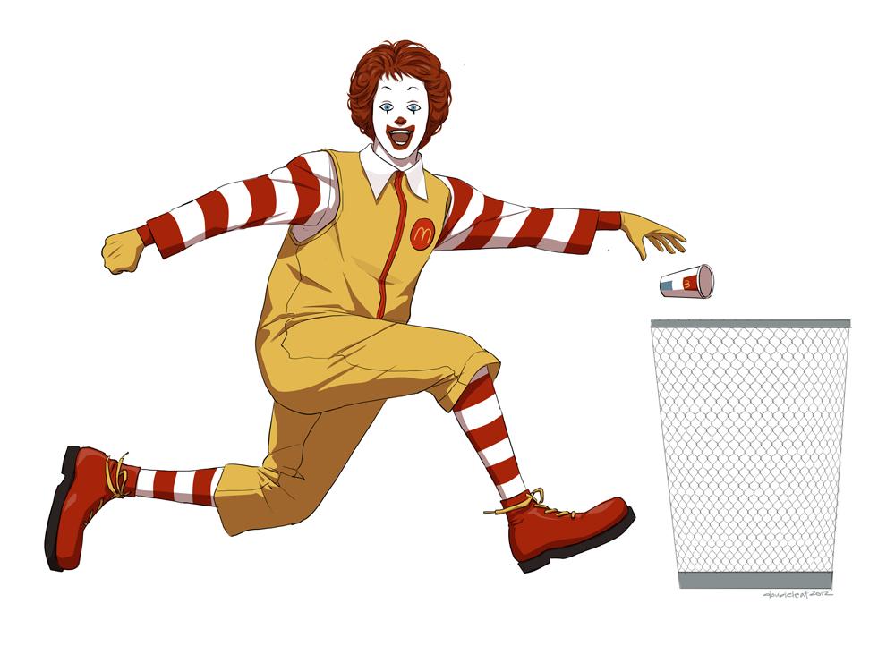 seltene mcdonalds sticker 2016