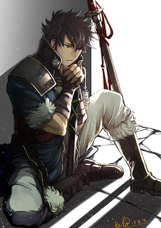 Tags: Anime, Pixiv Id 12140685, Fire Emblem Heroes, Ronku, Lon'qu