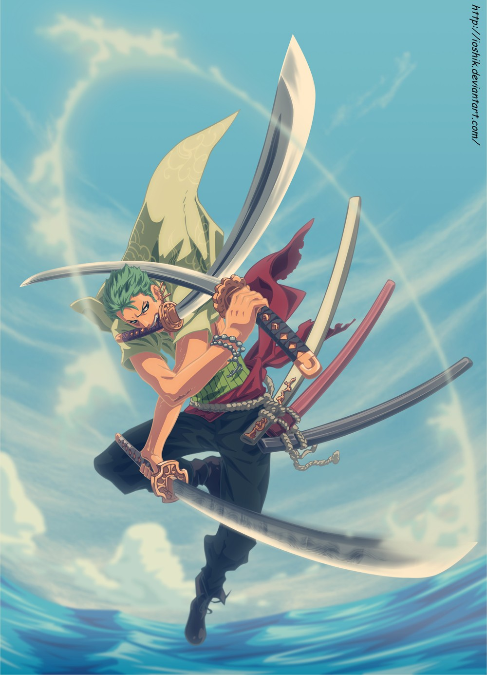 Roronoa Zoro One Piece Mobile Wallpaper 1091387