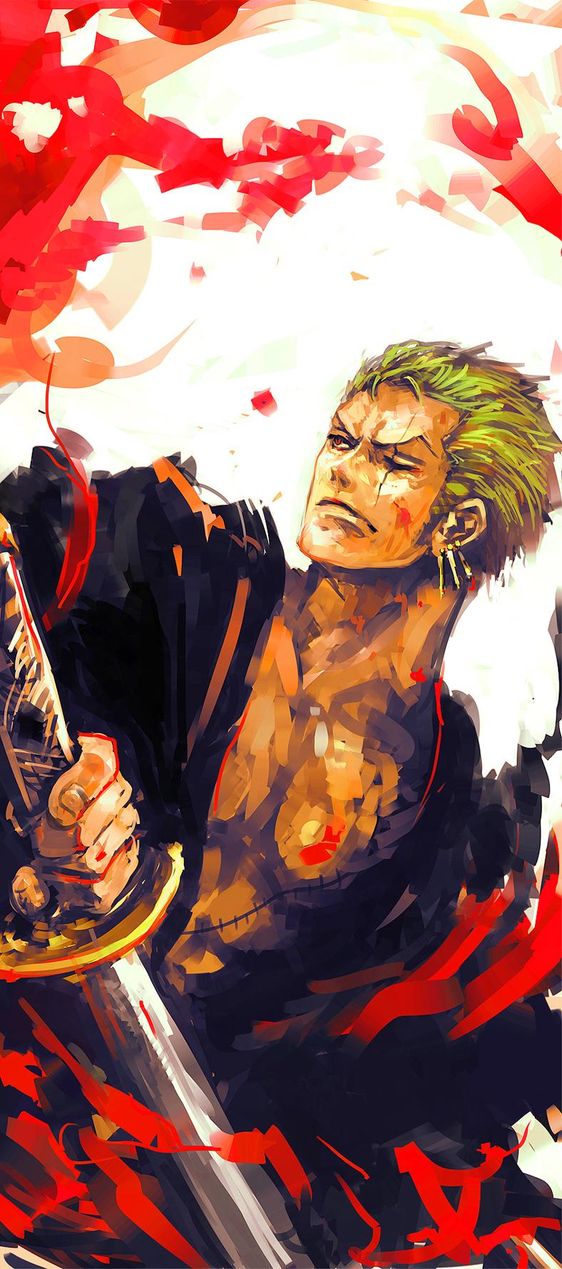 Roronoa Zoro One Piece Zerochan Anime Image Board