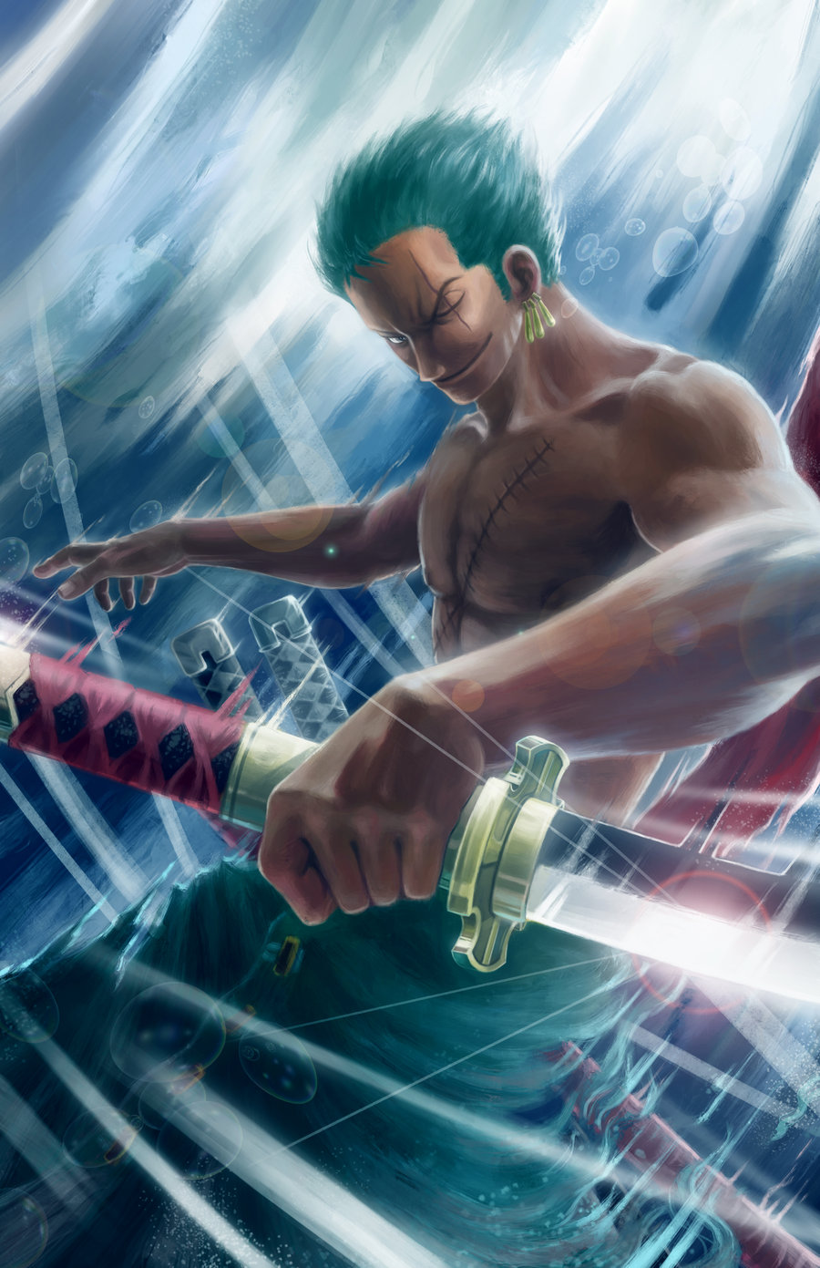 Roronoa Zoro One Piece Mobile Wallpaper 1299399 Zerochan Anime Image Board