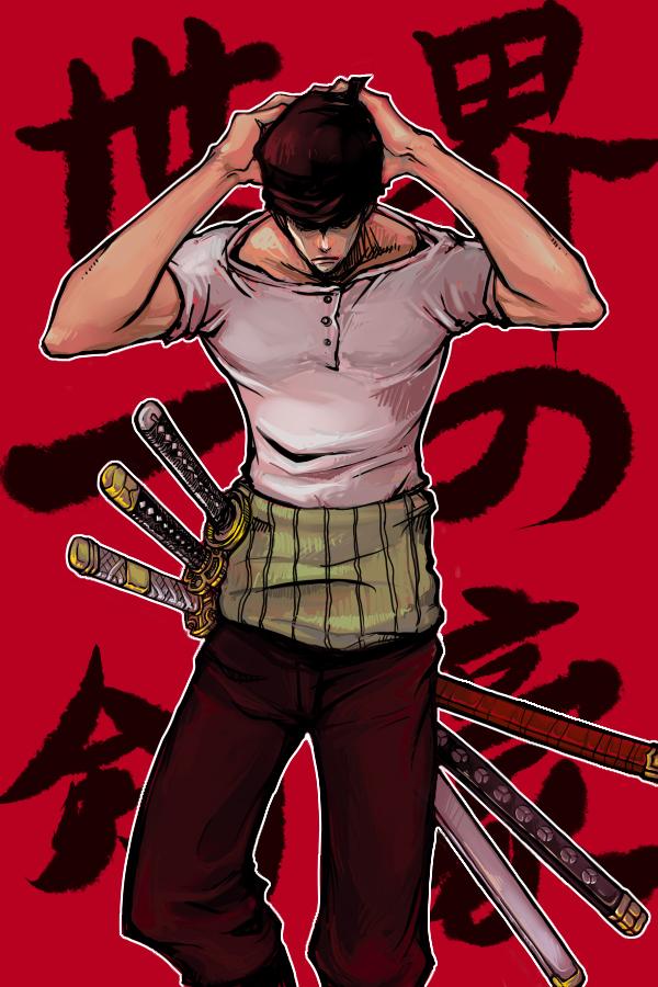Roronoa Zoro One Piece Mobile Wallpaper 1353428 Zerochan Anime Image Board