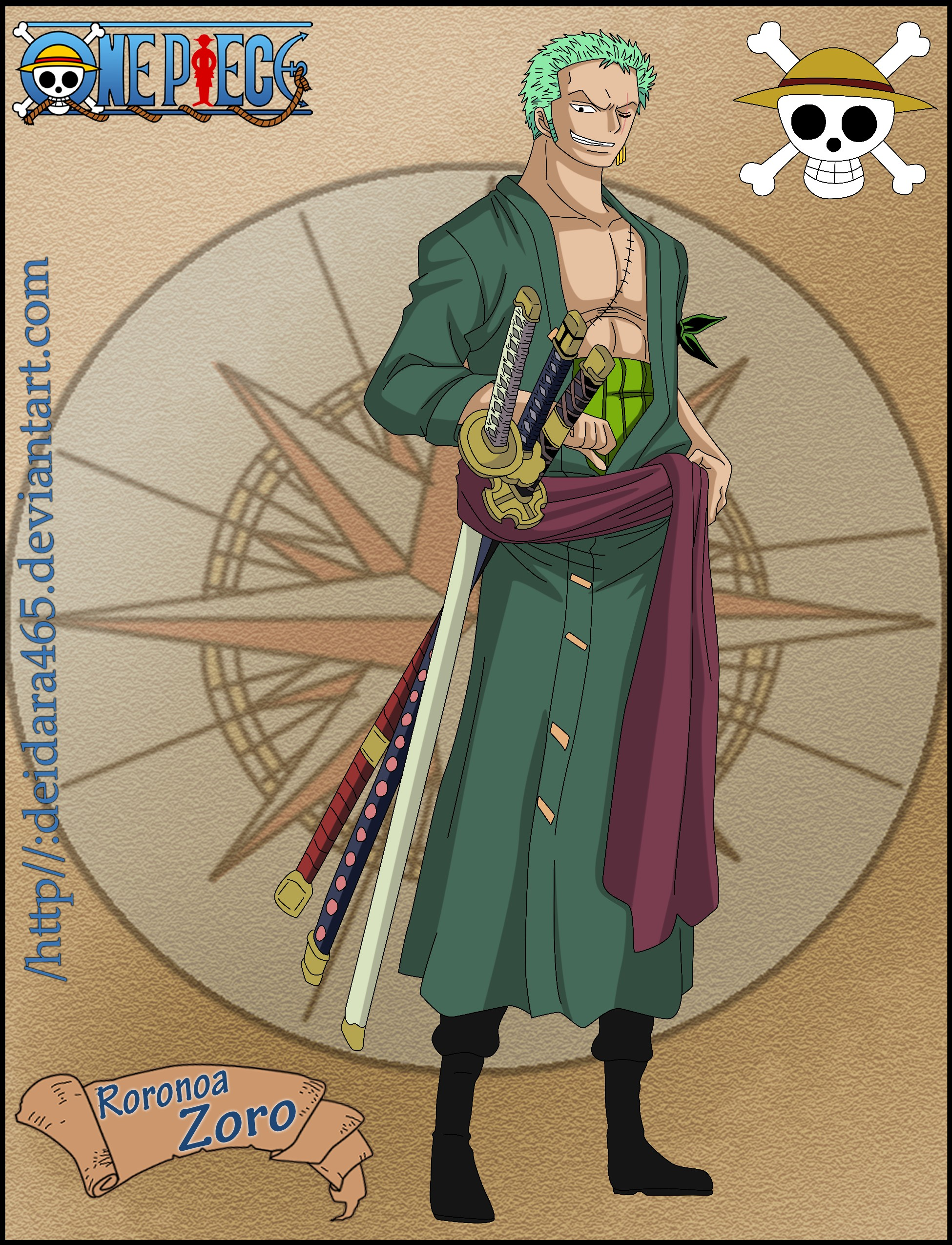 Roronoa Zoro - ONE PIECE - Image #936800 - Zerochan Anime ...