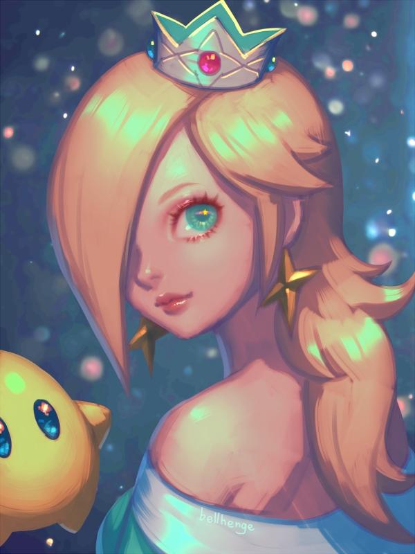 Rosalina Super Mario Galaxy Wallpaper 2202271 Zerochan Anime Image Board