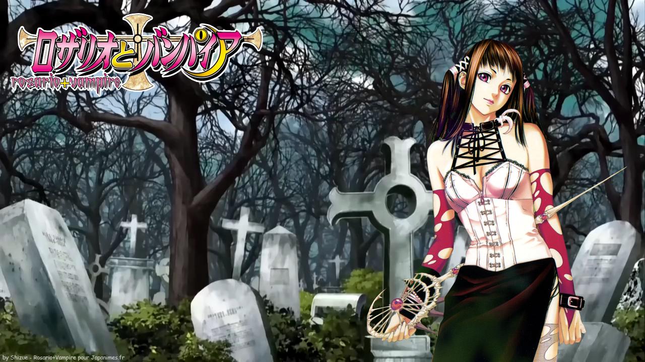Rosario Vampire Wallpaper Page 2 Zerochan Anime Image