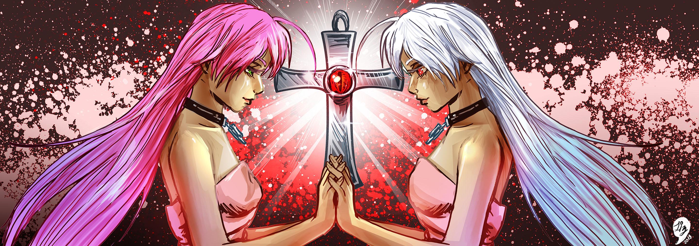 обої із аніме розаріо вампір мока акасія