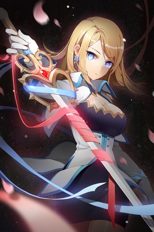 Tags: Anime, Gilse, Sword Girls, Rose Pacifica, Skirte, Mobile Wallpaper