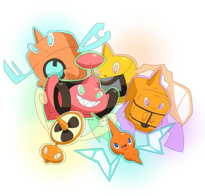 Tags: Anime, Pokémon, Rotom, Electronic Things