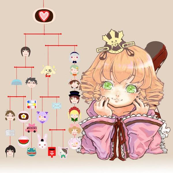 Tags: Anime, Fujinozu, Rozen Maiden, Sakurada Nori, Souseiseki, Sakurada Jun, Kirakishou