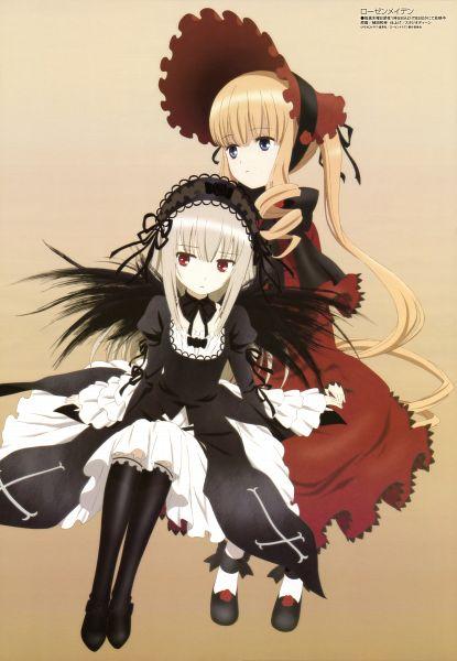 Tags: Anime, Ueda Kazuyuki, Studio Deen, Rozen Maiden, Megami #161 2013-10, Shinku, Suigintou