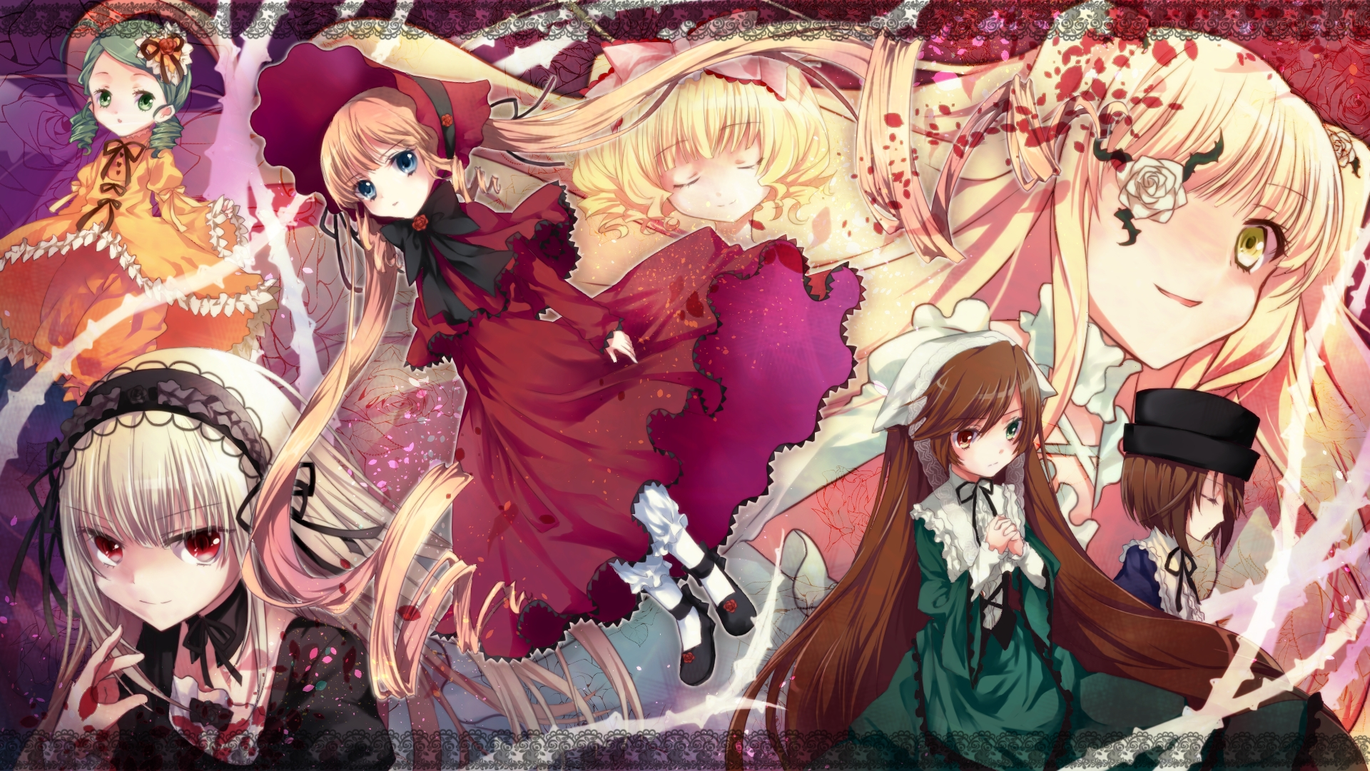 Rozen Maiden Hd Wallpaper Zerochan Anime Image Board