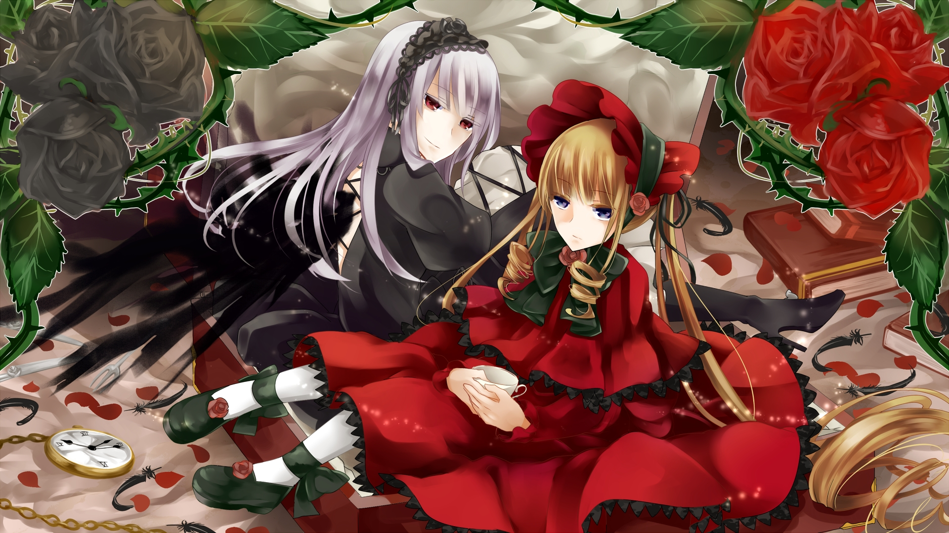 Rozen Maiden Peach Pit Hd Wallpaper 1611606 Zerochan