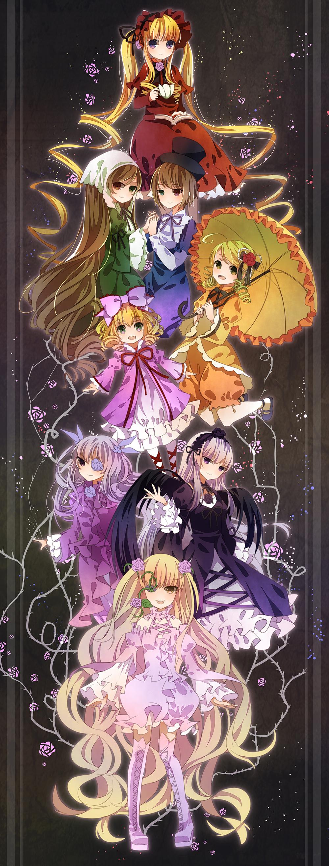 Kanaria Parasol Zerochan Anime Image Board