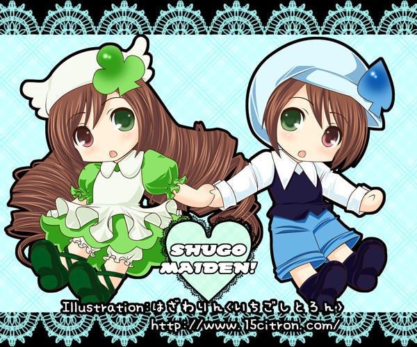Tags: Anime, Ichigo-citron, Rozen Maiden, Shugo Chara!, Suiseiseki, Souseiseki, Miki (Shugo Chara!) (Cosplay), Su (Shugo Chara!) (Cosplay), Pixiv