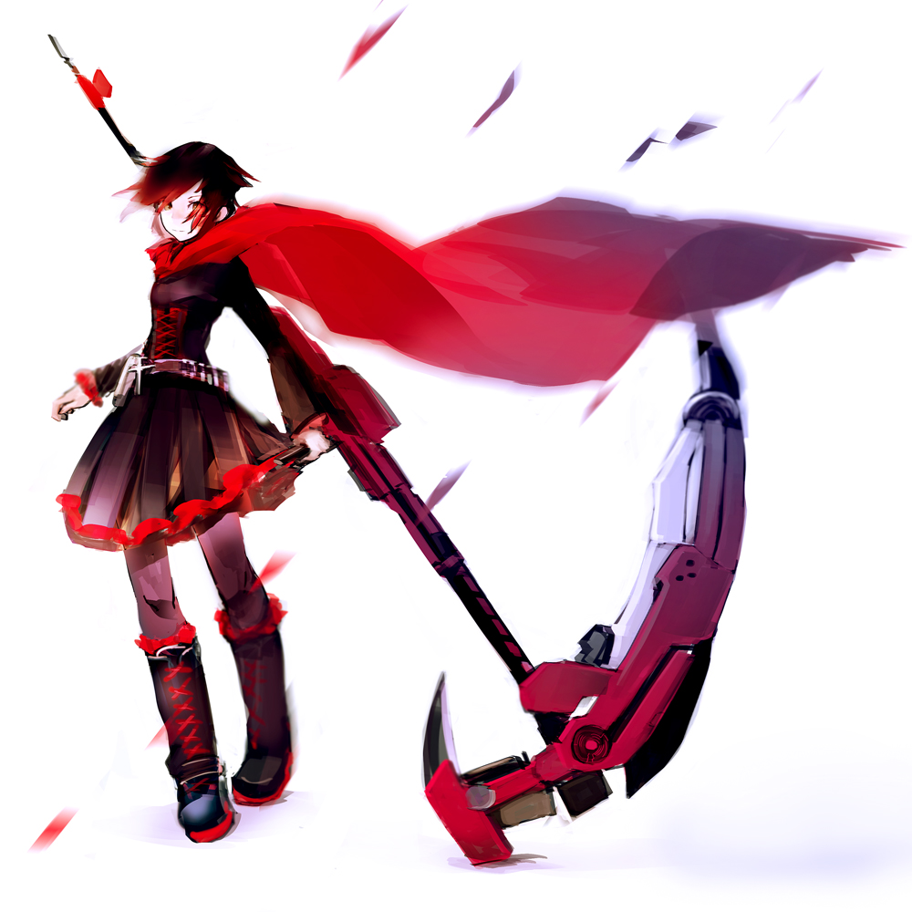 ruby rose anime wallpaper