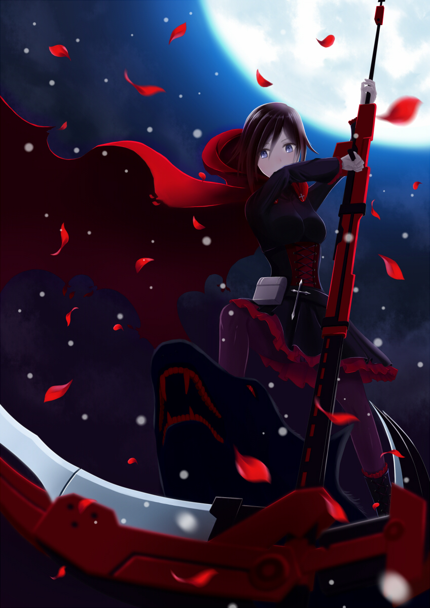 Ruby Rose Mobile Wallpaper Zerochan Anime Image Board